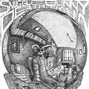 Eric Pedersen - Snuggle Bunny Death Train - after M. C. Escher's Self Portrait