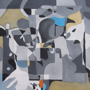 Eric Pedersen - Abstract Painting based on Shadows