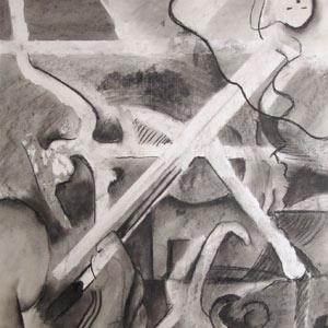 Eric Pedersen - Masking Study Drawing #2