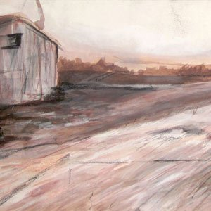 Eric Pedersen - Farm Landscape Drawing