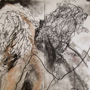 Eric Pedersen - Figure Abstraction Drawing #2