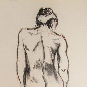 Eric Pedersen - Nude Gesture Drawing #2