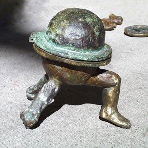 Eric Pedersen - Reliquary Cast Bronze Sculpture