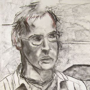 Eric Pedersen - Portrait of an Unknown Individual Drawing