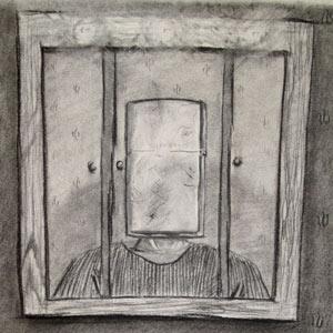 Eric Pedersen - Zippo Head Drawing